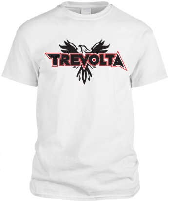 trevolta shirt white